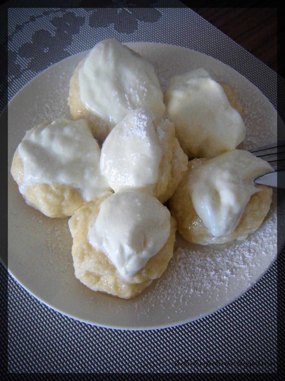 Węgierskie knedle serowe