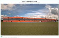 Предпроектное предложение складского терминала в Лежневском районе Ивановской области. Архитектурные решения. Перспектива. Общий вид (1-й вариант)