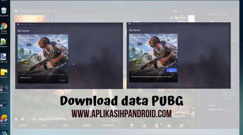 Cara bermain PUBG di PC dengan menggunakan software Tencent Gaming 3