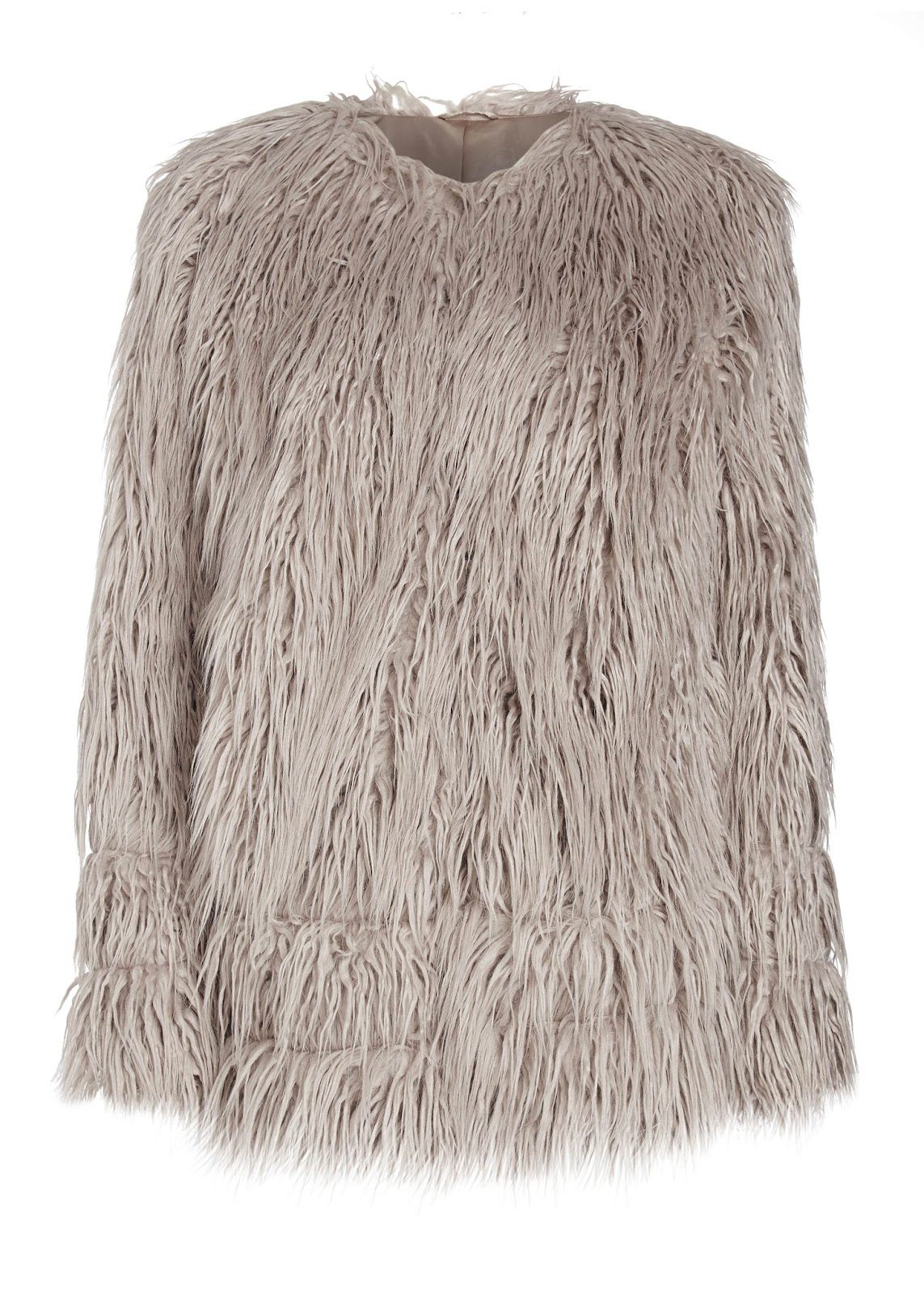 Matalan Yeti Faux Fur Coat