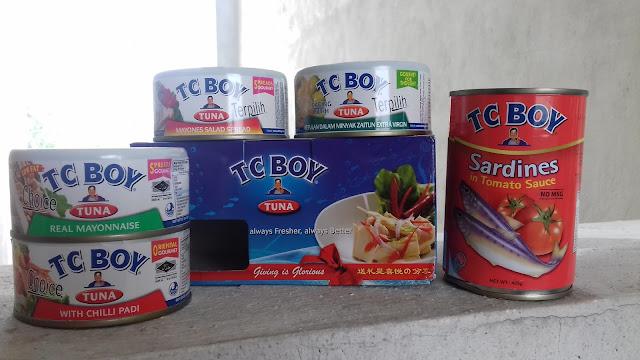 Mudahnya memasak dengan Makanan Dalam Tin TC Boy