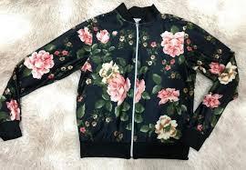 jaqueta bomber floral do brás,