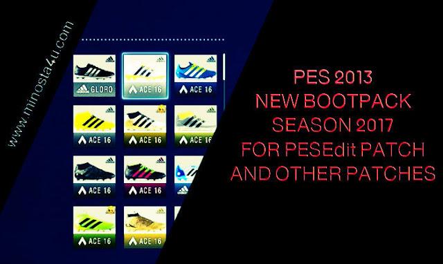 New Bootpack Season 2016-2017 - PES 2013