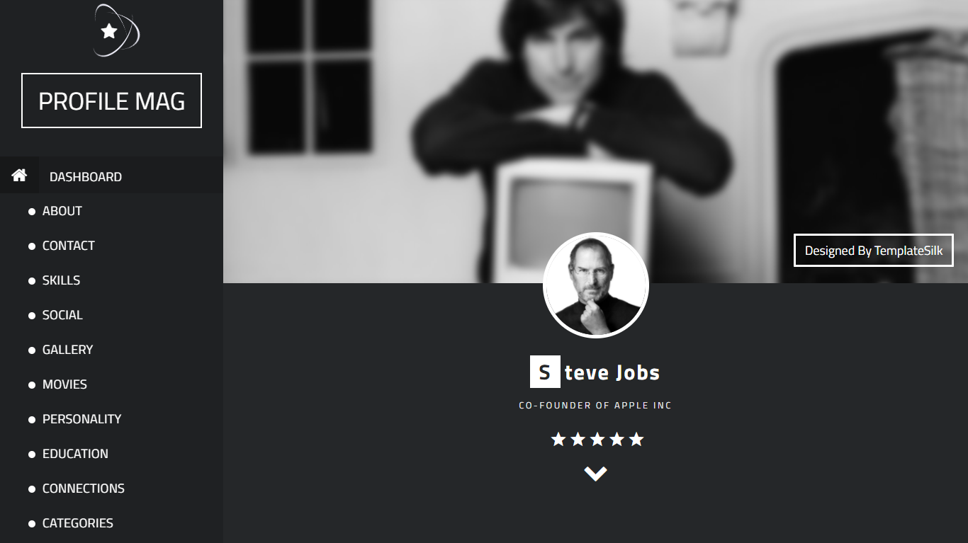 ProfileMag Responsive Blogger Theme