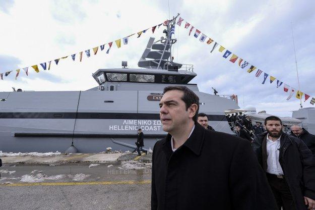 ΣΥΡΙΖΑίοι μεταφέρθηκαν στη Σαμοθράκη για τον Τσίπρα με σκάφος του Λιμενικού