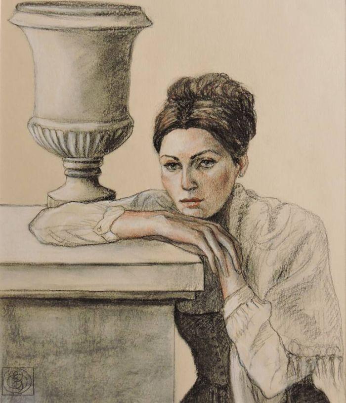 Вневременные картины. Katia Bellini