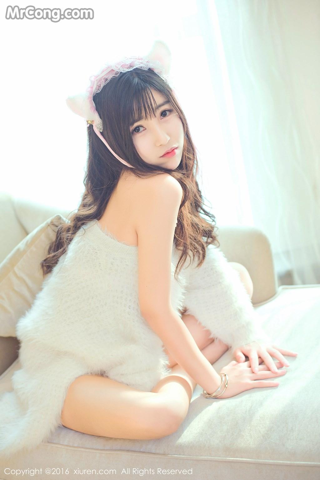 Image MrCong.com-XIUREN-No.649-You-You-YOYO-003 in post XIUREN No.649: Người mẫu You You (悠悠YOYO) (61 ảnh)