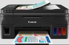 scanner and fax with refillable ink storage tanks for inexpensive publishing Canon G4400 Drivers Download