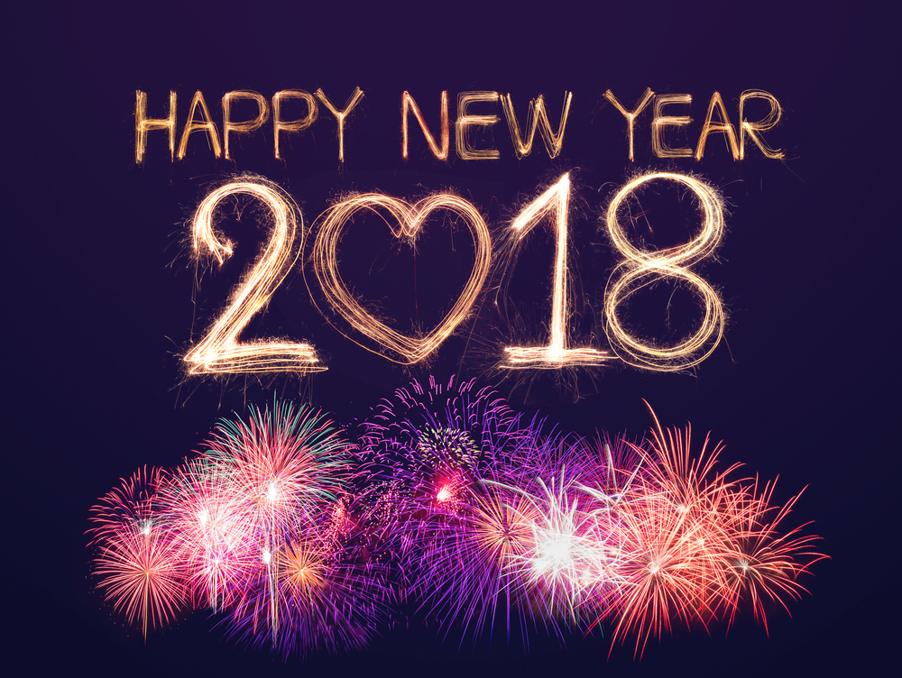 Download Happy New Year 2018 HD Images