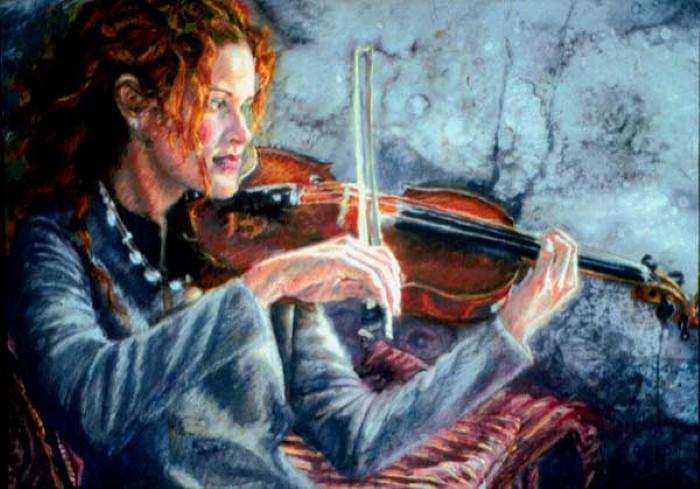 Современные художники Кипра. Sylvia Nitti 9