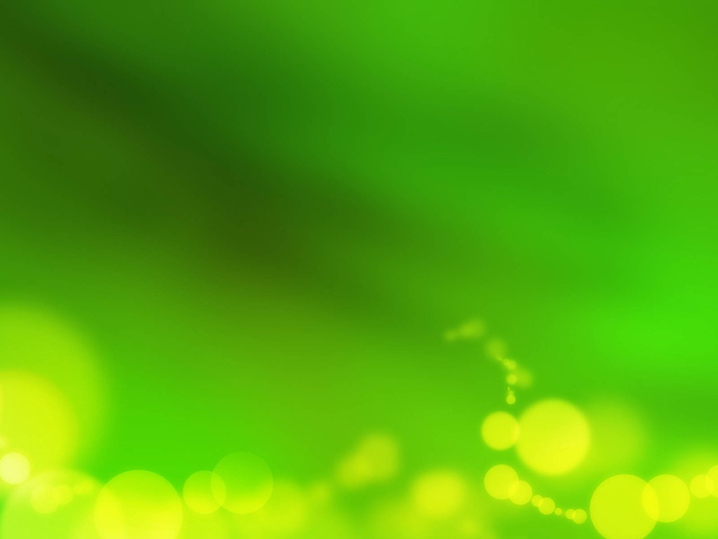 Green abstract PPT background