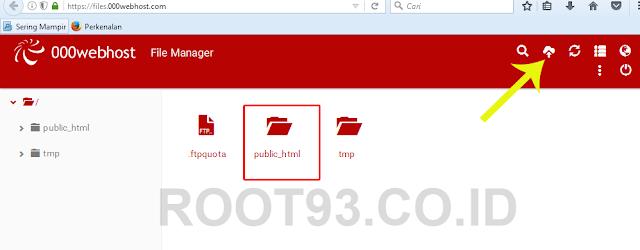 contoh folder public html