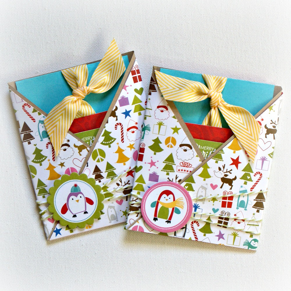 Jenny Evans: Bella Blvd Christmas Wishes Gift Card holders