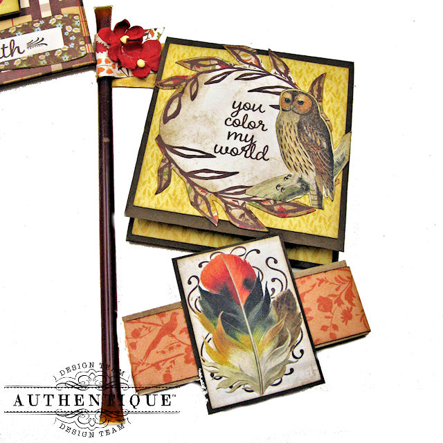 Authentique Pleasant Fall Card Folio by Kathy Clement Photo 03