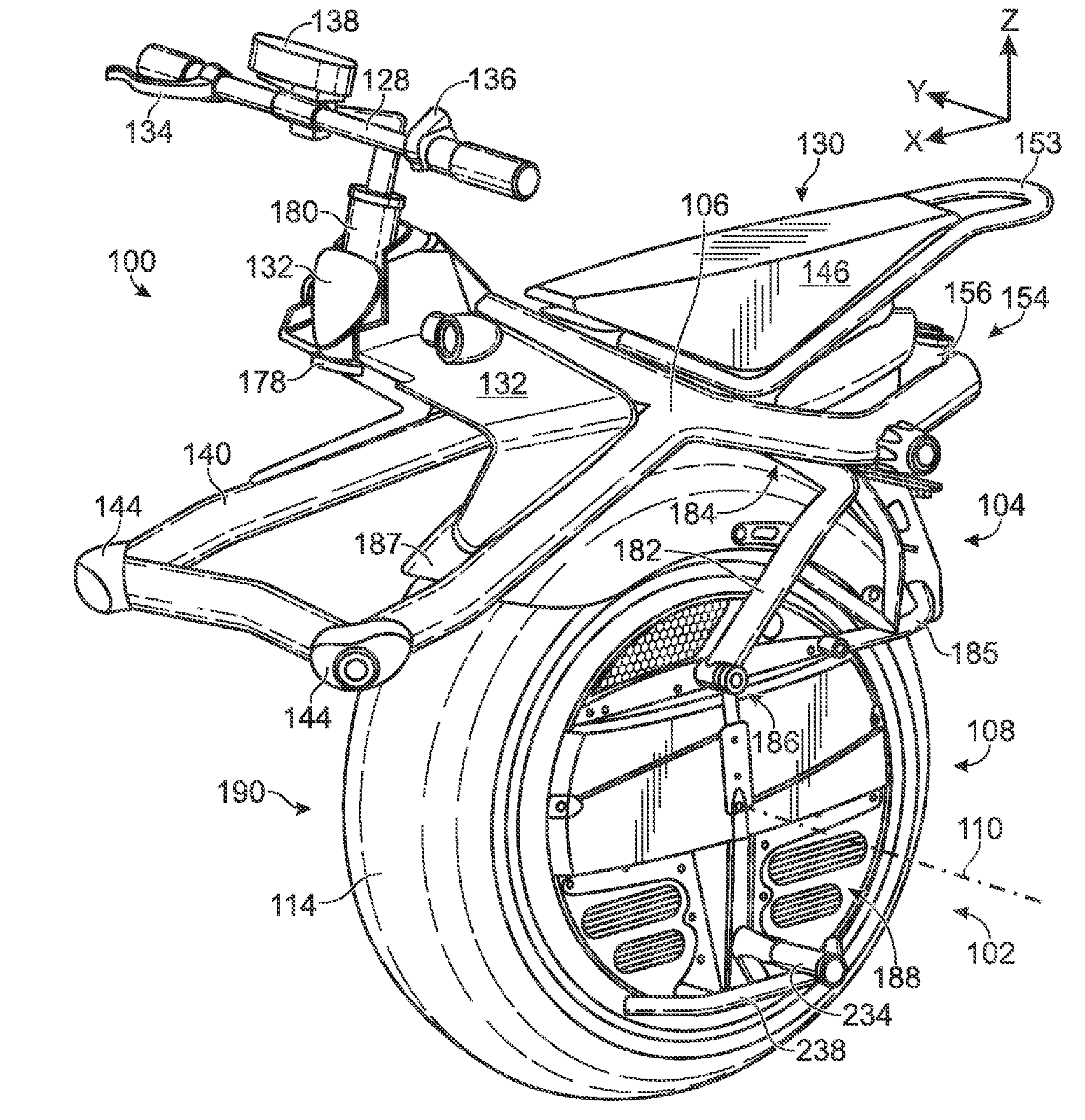 The Patent Search Blog The Ryno Self Balancing Unicycle