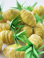 Ananas Perles en Papier