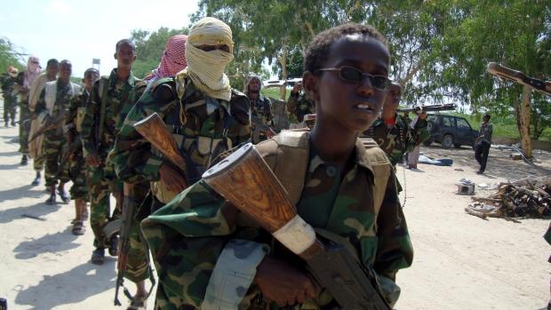 Militants training in Somali. PHOTO | AFP