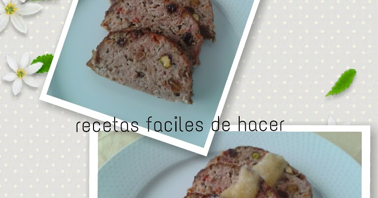 Recetas faciles de hacer pastel de carne by atrapada en - Salsas faciles de hacer ...