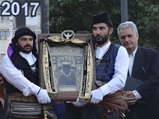 Συγκίνηση και δέος στην υποδοχή της Εικόνας της Παναγίας Σουμελά, Προστάτιδας του Ποντιακού Ελληνισμού