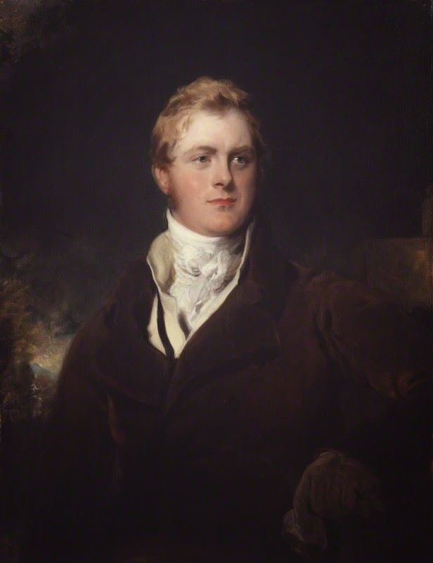 Frederick John Robinson,  1st Earl of Ripon, by Sir Thomas Lawrence  oil on canvas (c1824) © NPG 4875