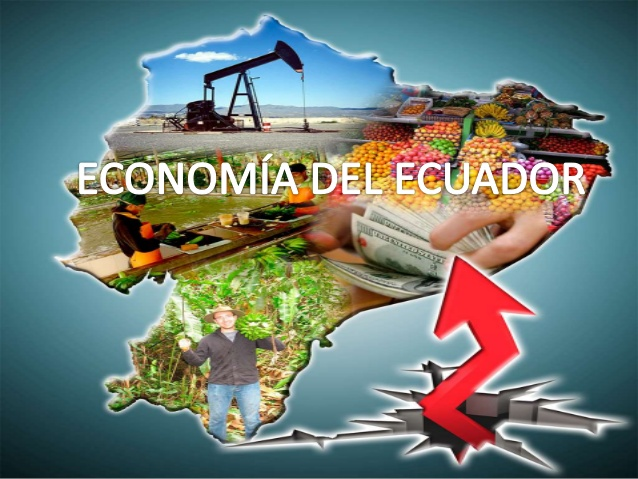 mapa economico ecuador 2015