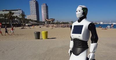 Dubai robot polis,robot polis