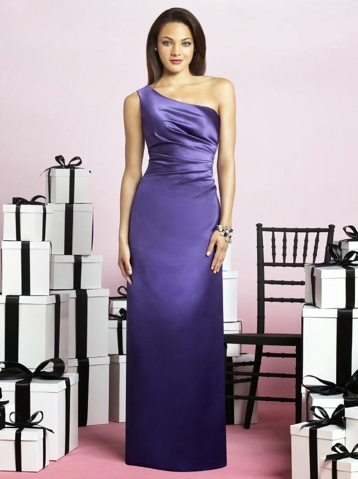 Atractivos diseños de vestidos de damas de honor | 101 Vestidos de ...