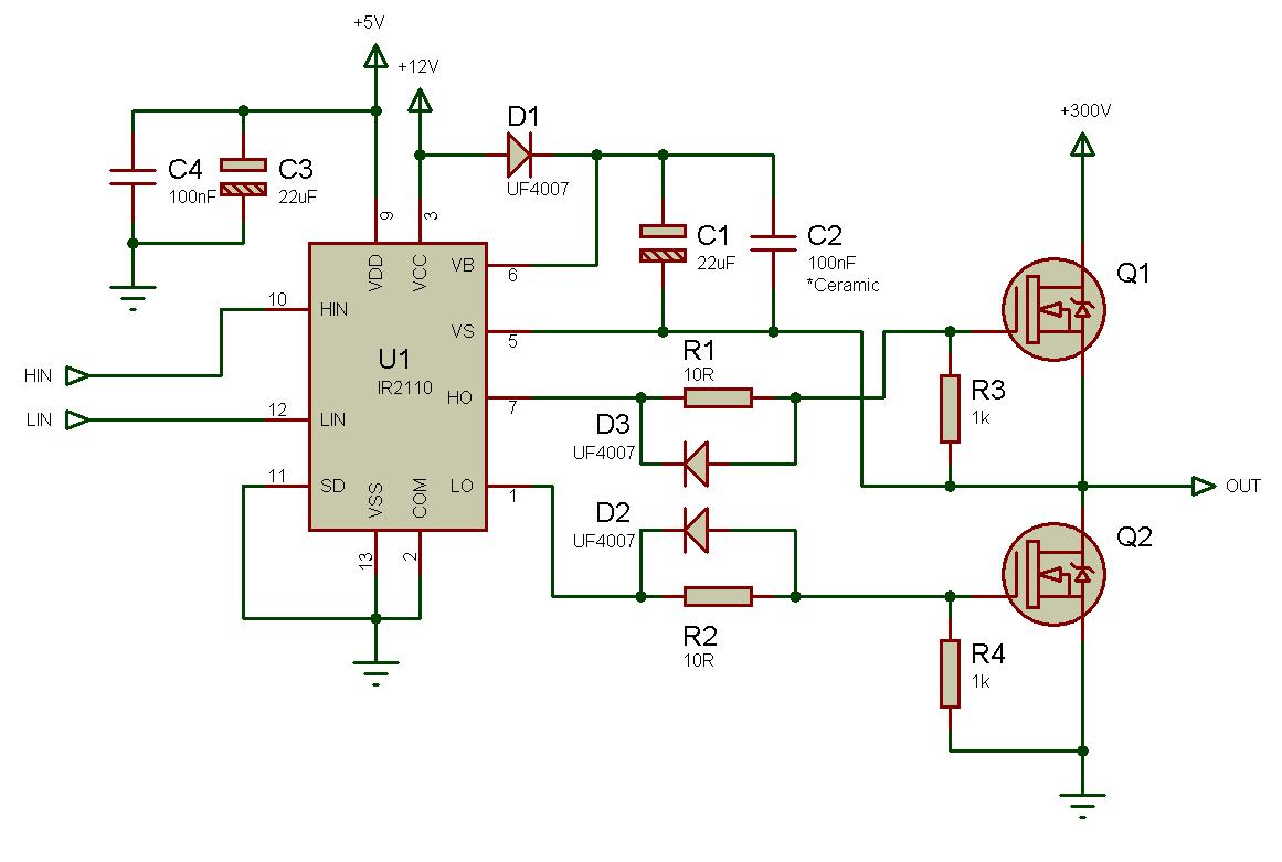 debugging the bridge tips for successfully designing full half bridge circuits [ 1161 x 781 Pixel ]