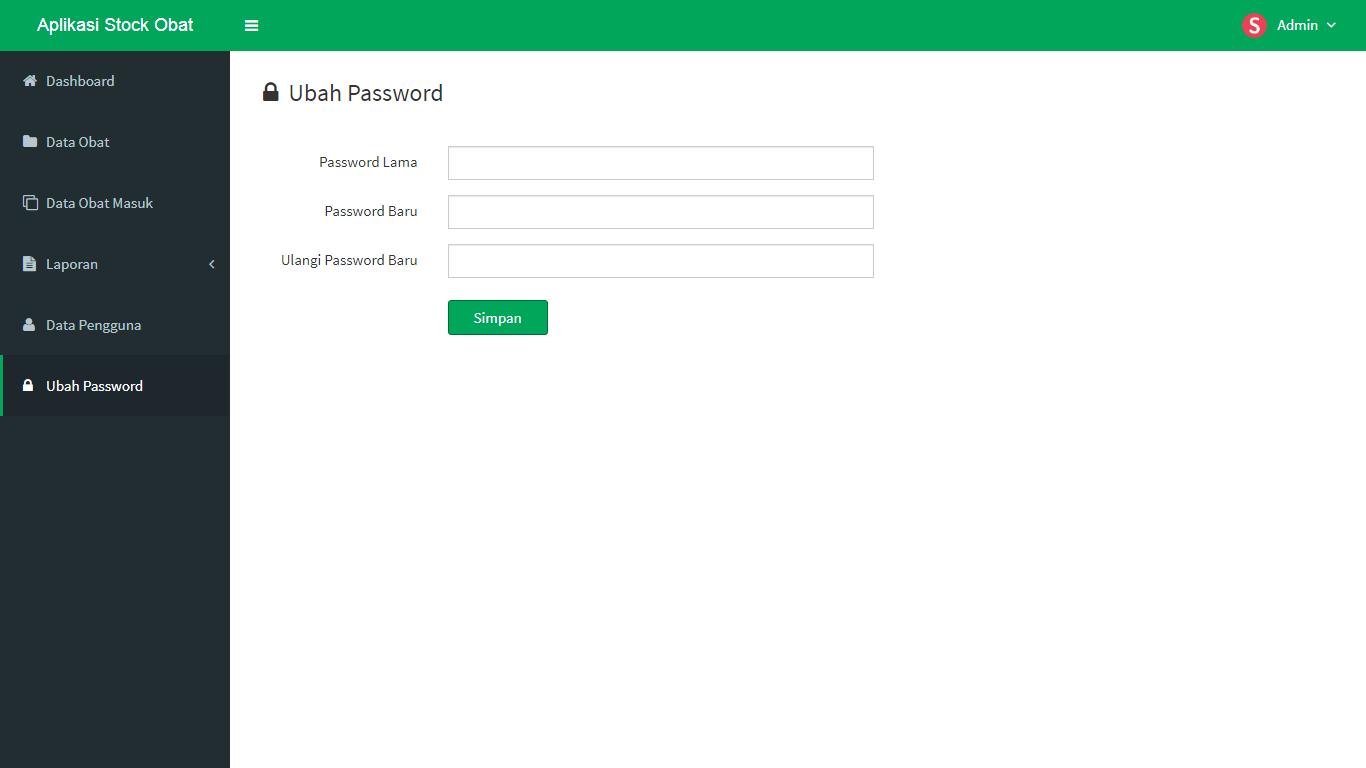 Aplikasi Stock Obat - SourceCodeKu.com