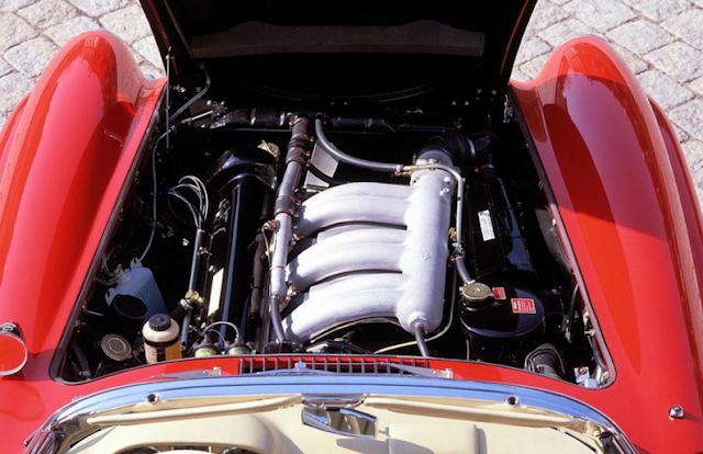 1957 - 1962 Mercedes 300SL Gullwing W194 Drivetrain