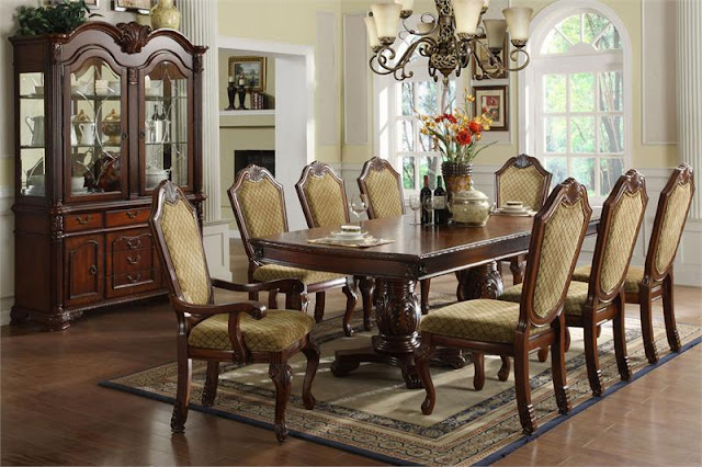 Perfect and Formal Dining Room Sets Perfect and Formal Dining Room Sets ID3005TNapaValleyFormalDiningTable  73689