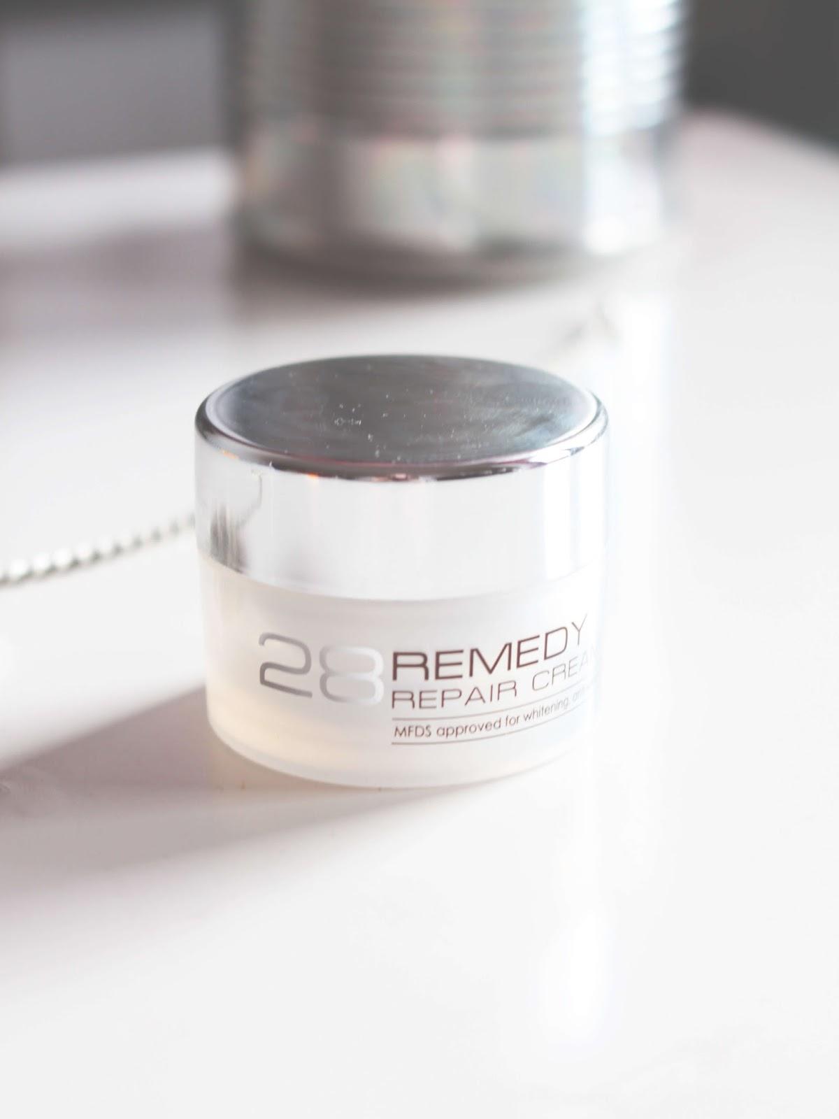 NoTS 28 Remedy Repair Cream review