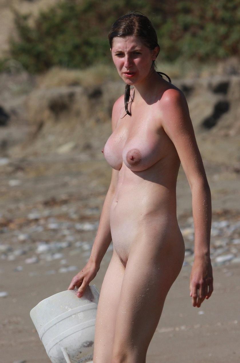 topless nudist beach