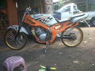 Gambar motor ninja r racing