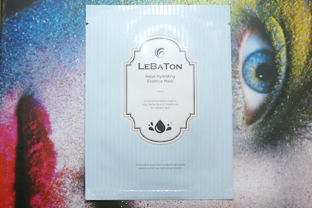 Lebaton Aqua Hydrating Essence Mask, 23g