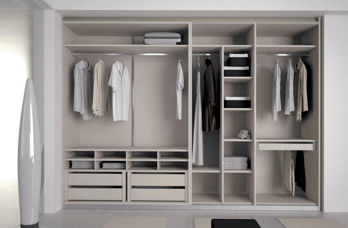 60 Model Lemari Pakaian Minimalis  Desainrumahnyacom