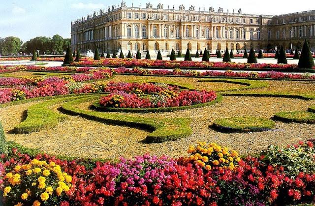 Palácio jardins de Versalhes