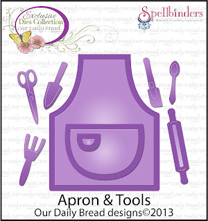 "ODBD Exclusive ""Apron and Tools"" Die Set"
