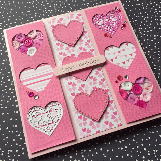 I Think Pink Is My Colour || Card Tutorials || Dovecraft Pink Goody Bag