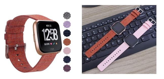 Correas para el Dispositivo de Ejercicio Fitbit Versa Edición Especial de Amazon