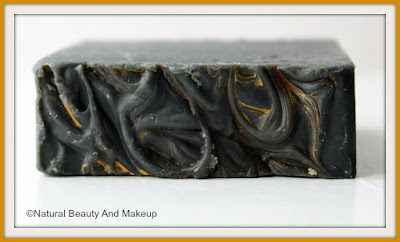 PaNee Handmade Soaps And Body Works ACTIVATED CHARCOAL Soap texture