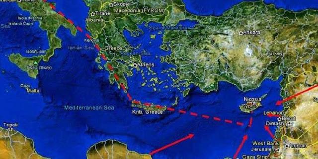 Ξεκινά ο East Med-Θα μεταφέρει φυσικό αέριο από Ισραήλ σε Ιταλία μέσω Θεσπρωτίας
