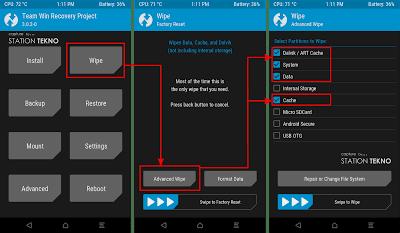 Cara Memasang Rom dotOS 8.0 (Oreo) Di Xiaomi Redmi 4A Rolex