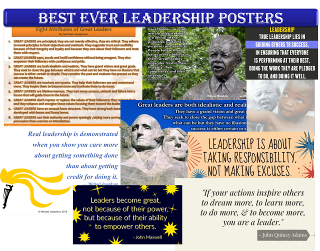 Best Ever Leadership Posters