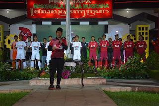 Launching Tim Persiga Digelar Meriah
