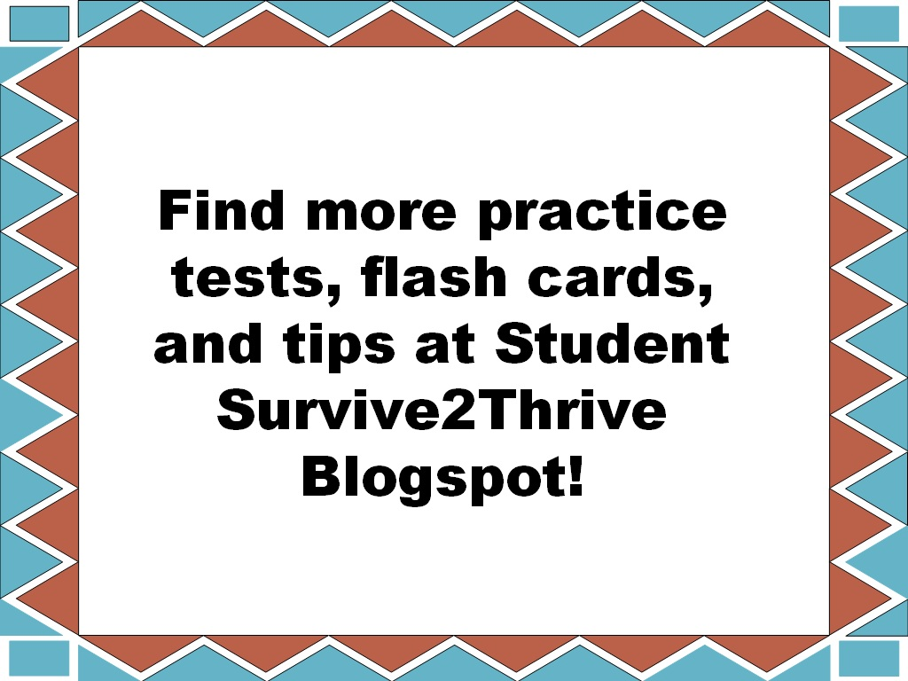 Student Survive 2 Thrive Free Medical Terminology