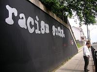 Anti-racist mural, Jones Avenue Toronto, By Beatrice Murch via Wikimedia Commons
