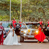 Wow! Check out the extravagant wedding of one of TB Joshua's pastors, Jimmy Luka and wife Blessing Elizabeth Mulungi ...photo