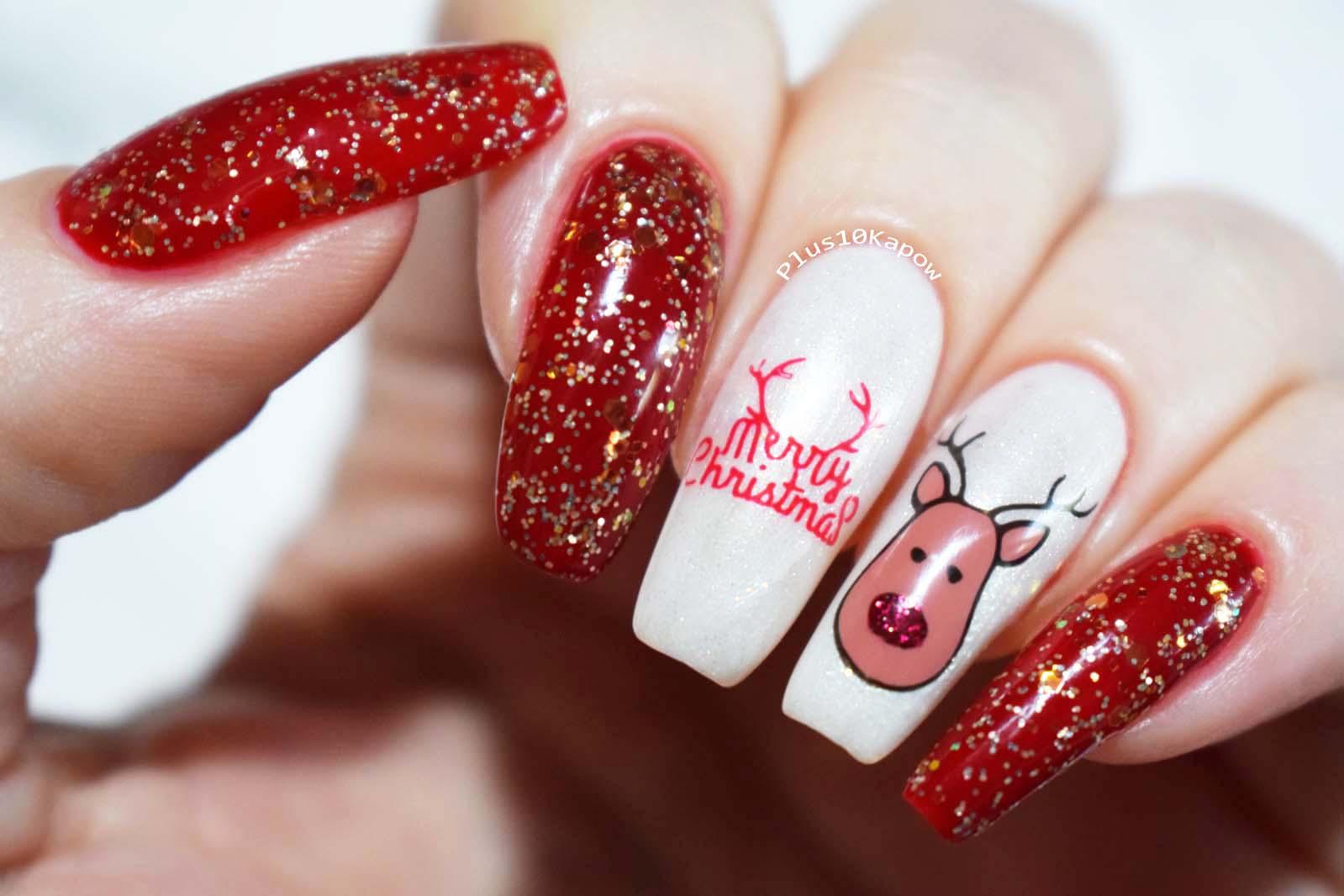 a29dd5cd BMGLITZMAS Merry Christmas From Rudolph