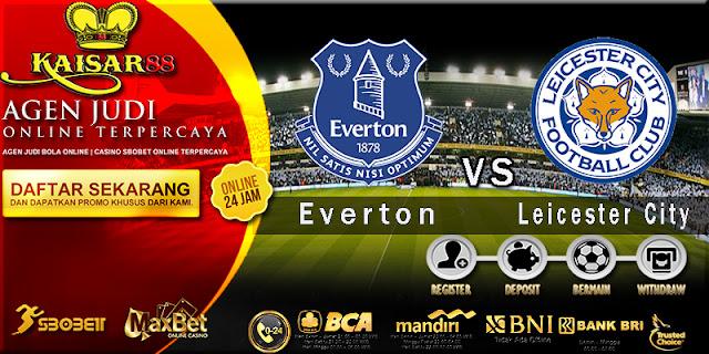 Prediksi Bola Jitu Everton vs Leicester City 1 Februari 2018